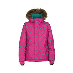 O'Neill Radiant Girls Snowboard Jacket, Framboise Pink, 256