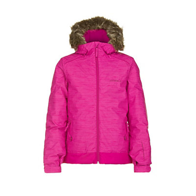 O'Neill Tigereye Girls Snowboard Jacket, Orange Aop, viewer