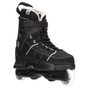 Razors Quinny Pro SL Aggressive Skates, Black-Grey, medium