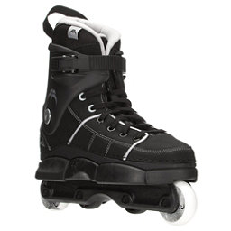 Razors Quinny Pro SL Aggressive Skates, Black-Grey, 256