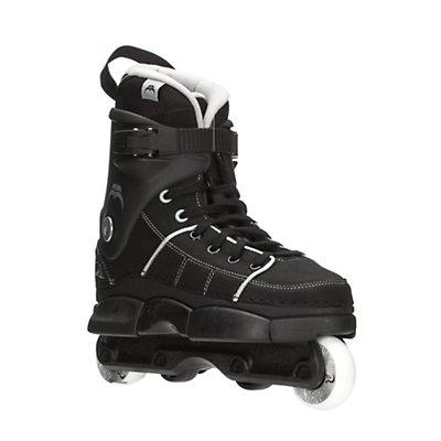 Razors Quinny Pro SL Aggressive Skates, Black-Grey, viewer
