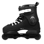 Razors Genesys 11 Aggressive Skates, Black-White, medium