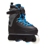 Razors Genesys Jr Kids Aggressive Skates 2016, Black-Grey-Blue, medium