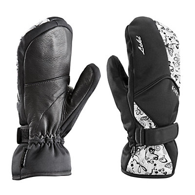 Leki Butterfly S Womens Mittens, Black, viewer