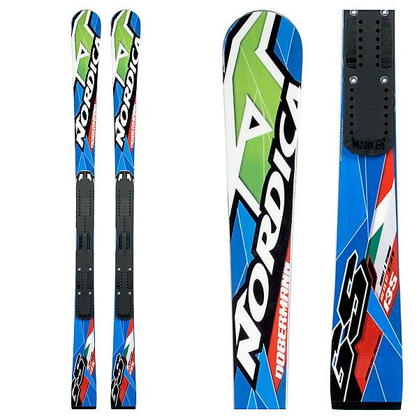 Nordica Dobermann GSJ Junior Race Skis, , 600