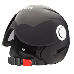 OSBE Proton Jr. Kids Helmet, Soft Black, 256
