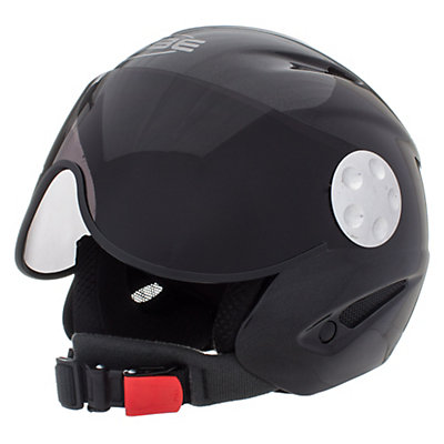 OSBE Proton Jr. Kids Helmet, Soft Red, viewer
