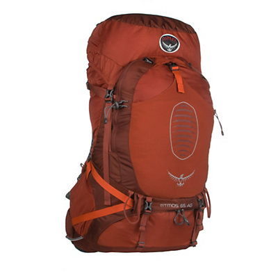 Osprey Atmos 65 AG Backpack, Cinnabar Red, viewer