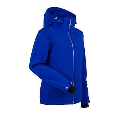 NILS Terri Womens Insulated Ski Jacket, Red, viewer