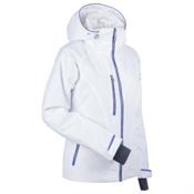 Nils Kristina Womens Insulated Ski Jacket, Iris-White-Silver, medium