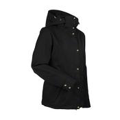 Nils Natalie Womens Insulated Ski Jacket, Black, medium