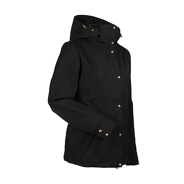 NILS Natalie Womens Insulated Ski Jacket, Black, 600