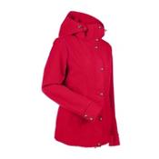 Nils Natalie Womens Insulated Ski Jacket, Red, medium