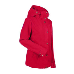 NILS Natalie Womens Insulated Ski Jacket, Red, 256