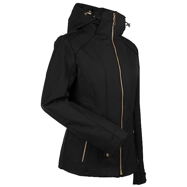 NILS Darlene Womens Insulated Ski Jacket, Black, 600