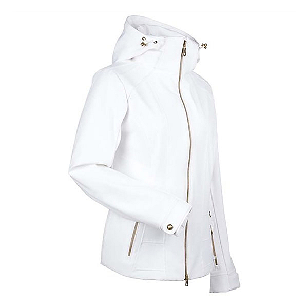 NILS Darlene Womens Insulated Ski Jacket, White, 600