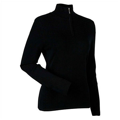 Nils Destinee Womens Sweater, Black, viewer
