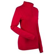 Nils Destinee Womens Sweater, Red, medium