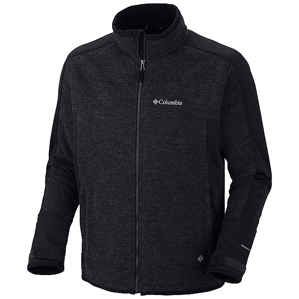 Columbia Grade Max Mens Soft Shell Jacket, Black, 600