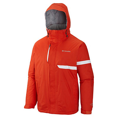 Columbia Fusion Exact Mens Insulated Ski Jacket, State Orange, viewer
