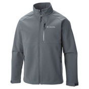 Columbia Heat Mode II Mens Soft Shell Jacket, Graphite, medium