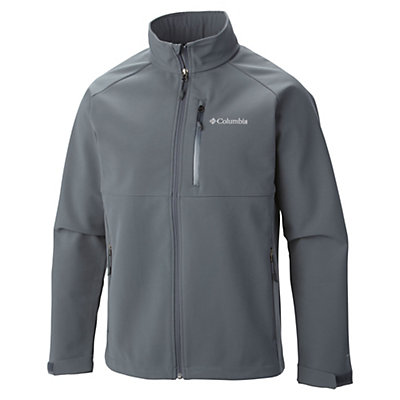 Columbia Heat Mode II Mens Soft Shell Jacket, Graphite, viewer