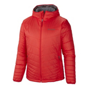 Columbia Mighty Lite Hooded Mens Jacket, Bright Red, medium