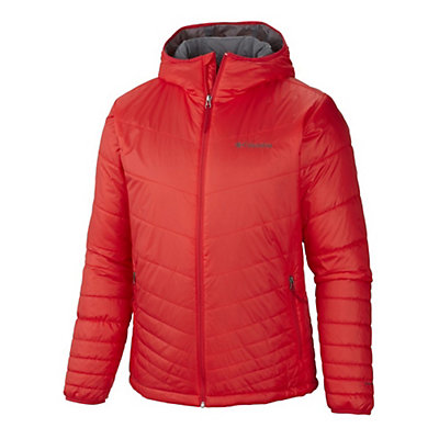 Columbia Mighty Lite Hooded Mens Jacket, Boulder, viewer