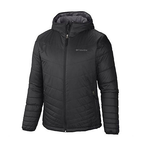 Columbia Mighty Lite Hooded Mens Jacket, Dark Moss, 600