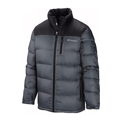 Columbia North Protection Down Mens Jacket, Graphite, viewer