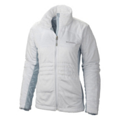 Columbia Lush Plush Womens Jacket, White, medium
