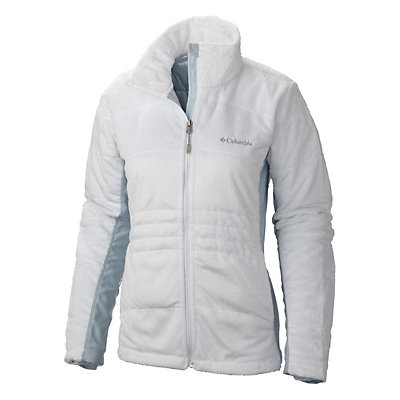 Columbia Lush Plush Womens Jacket, White, viewer