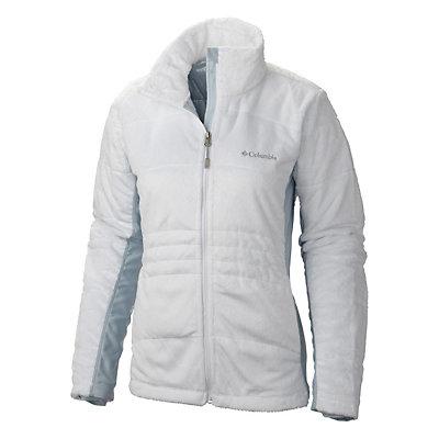 Columbia Lush Plush Womens Jacket, White, viewer