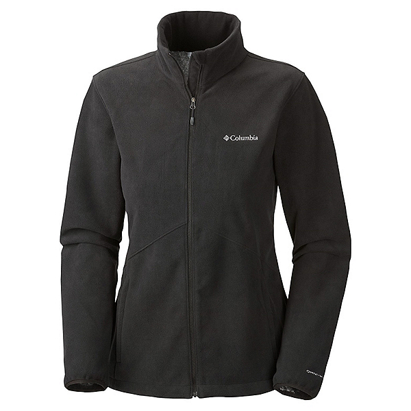Columbia Wind Protector Fleece Womens Jacket, Black, 600