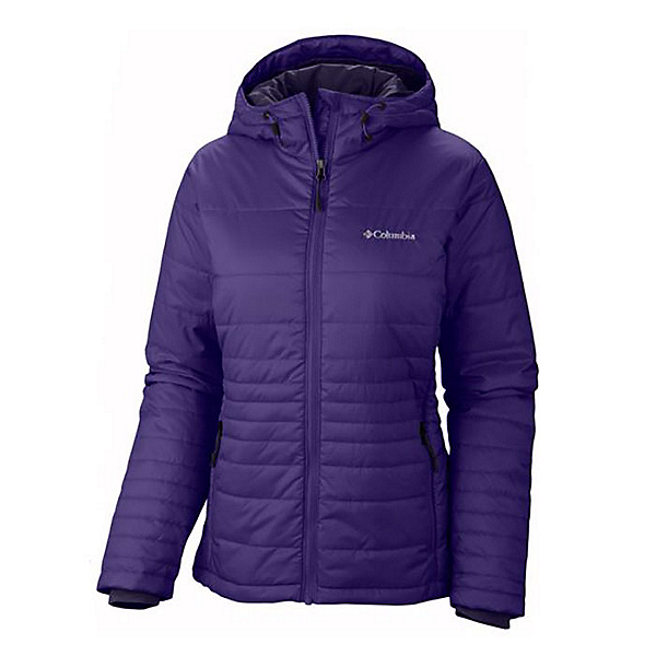 Columbia Go To Hooded Womens Jacket, Hyper Purple, 600