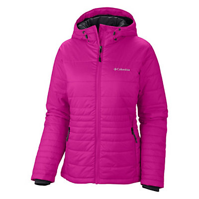 Columbia Go To Hooded Womens Jacket, Hyper Purple, viewer