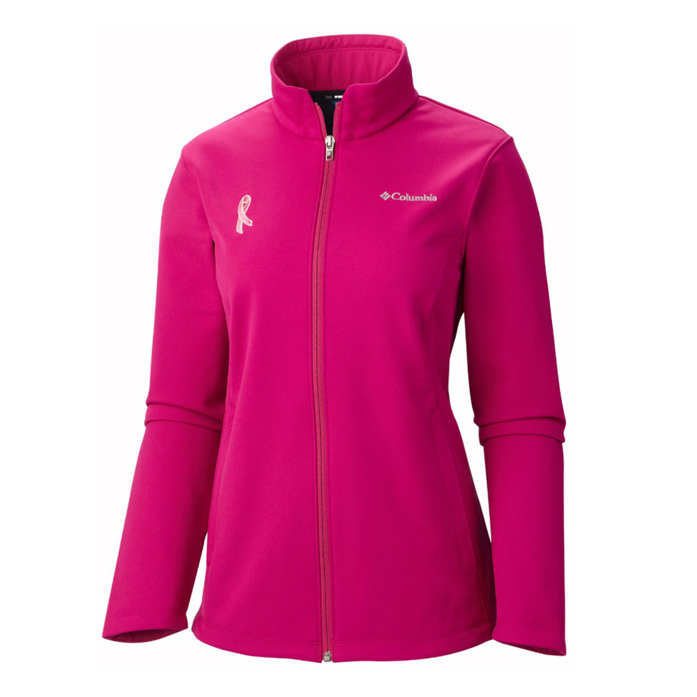 Columbia Tested Tough In Pink Womens Soft Shell Jacket