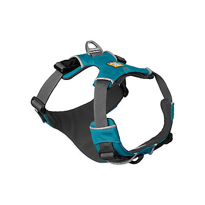 Ruffwear Front Range Harness 2016, Pacific Blue, viewer