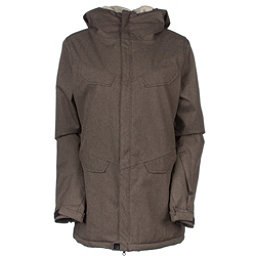 686 Annex Womens Insulated Snowboard Jacket, Chocolate, 256