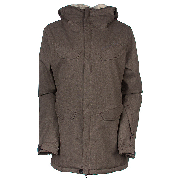 686 Annex Womens Insulated Snowboard Jacket, Chocolate, 600