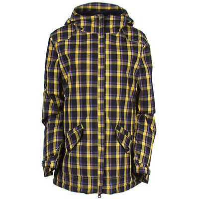 686 Faithful Womens Insulated Snowboard Jacket, Light Olive, viewer