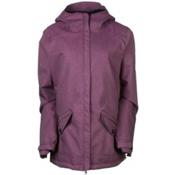 686 Faithful Womens Insulated Snowboard Jacket, Plum, medium