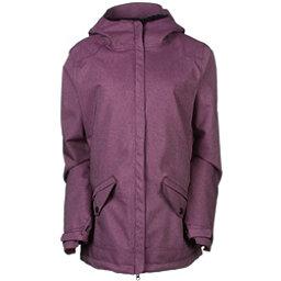 686 Faithful Womens Insulated Snowboard Jacket, Plum, 256