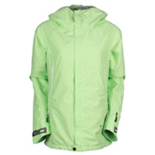 686 GLCR Chrystal Womens Insulated Snowboard Jacket, Chartreuse, medium