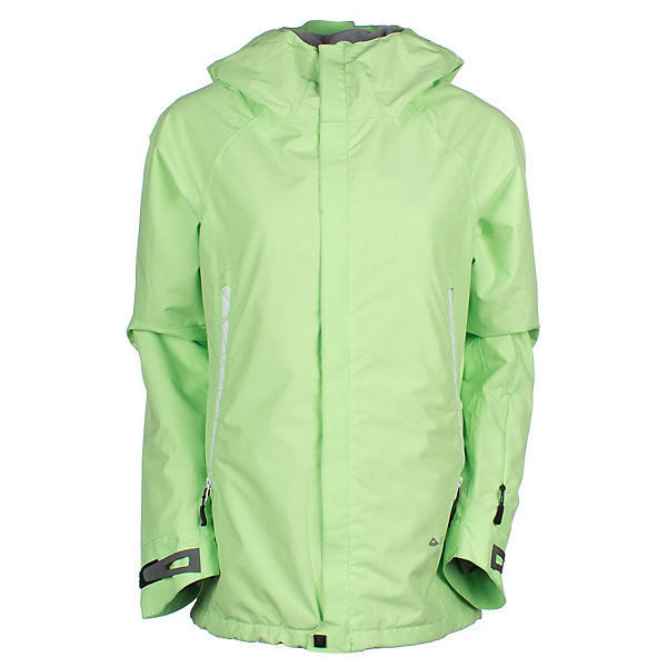 686 GLCR Chrystal Womens Insulated Snowboard Jacket, Chartreuse, 600