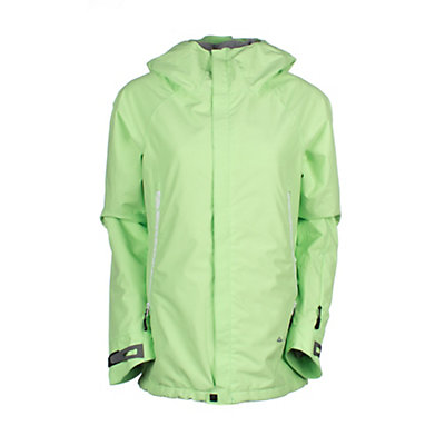 686 GLCR Chrystal Womens Insulated Snowboard Jacket, Chartreuse, viewer