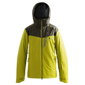 Orage Logan Mens Insulated Ski Jacket, Sulphur, medium