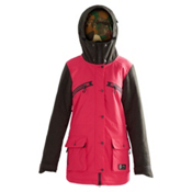 Orage Deal Womens Insulated Ski Jacket, Neon Hibiscus, medium