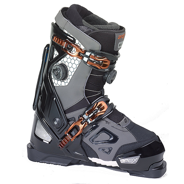 Apex MC-2 Ski Boots, Black-Grey, 600