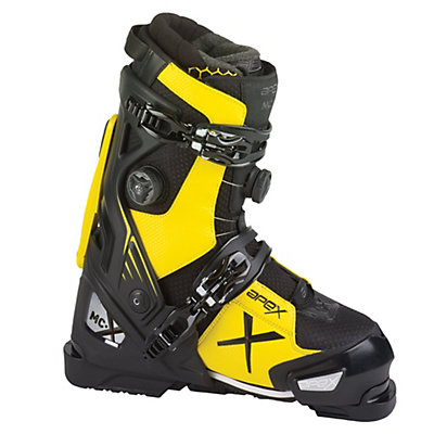 Apex MC-X Ski Boots, Black-Yellow, viewer